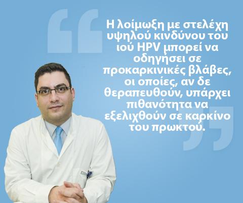 Κονδυλώματα και Καρκίνος Πρωκτού